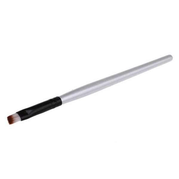 4 Colors Women Hot New fashion design Eyebrow Cosmetic Makeup Brush Wooden Handle + Artificial Fiber maquiagem