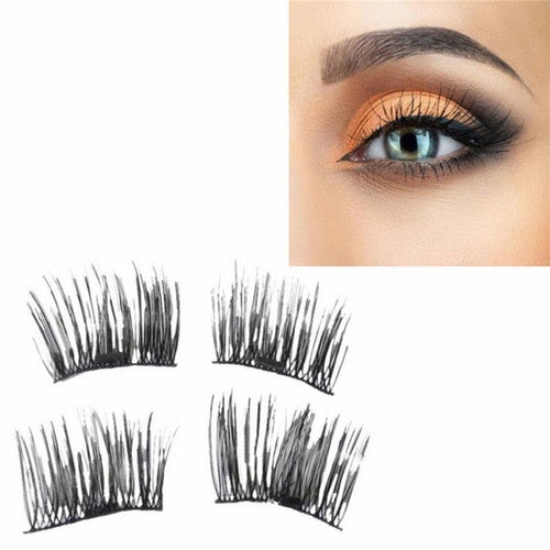 2pcs Reusable Magnet Sheet For 3D Magnetic False Eyelashes Extension Handmade Cosmetic not include false eyelashes