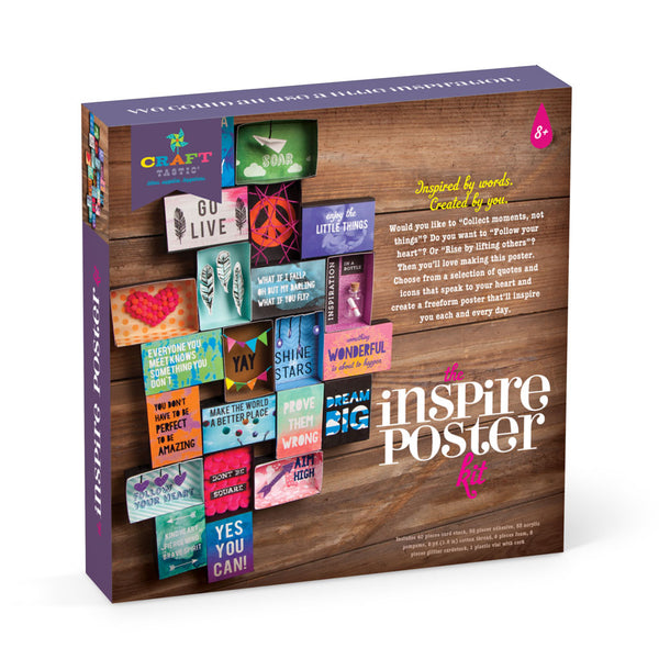 Craft-tastic Inspire Poster Kit - Fall 2017
