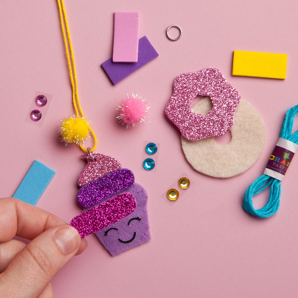 Craft-tastic Dessert Necklaces