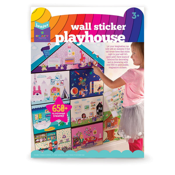 Craft-tastic Jr Wall Sticker Playhouse