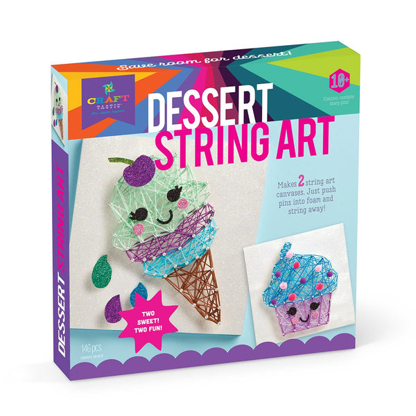 Craft-tastic String Art Kit IX Dessert