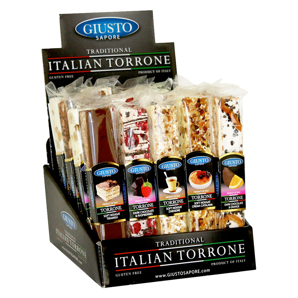 Discover Torrone – Soft Nougat and Nut Confections from Italy