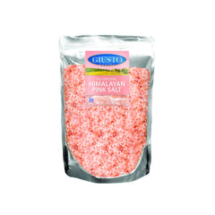 giusto sapore himalayan pink salt-coarse bag 16oz - imported from italy and family owned