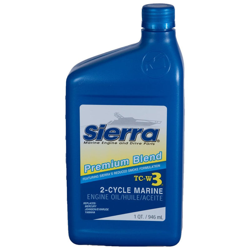 Sierra Premium Blend 2-Cycle Marine Engine Oil TC-W3