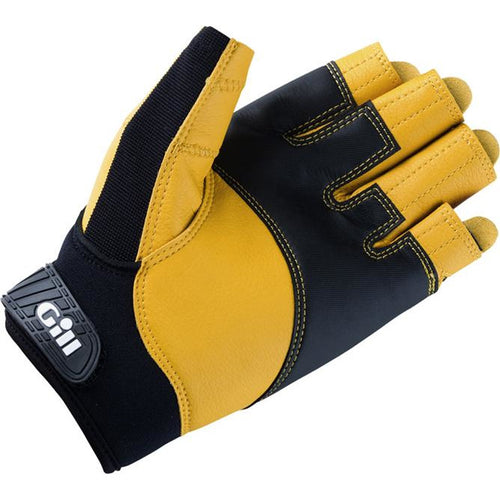 7442 Pro Glove Black Short Fingered
