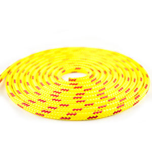 "3/8"" FLOATING LINE - YELLOW W/RED - PER FT"