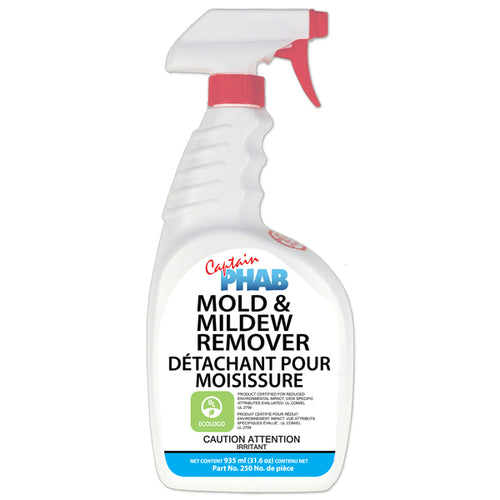 Captain Phab Mold and Mildew Stain Remover
