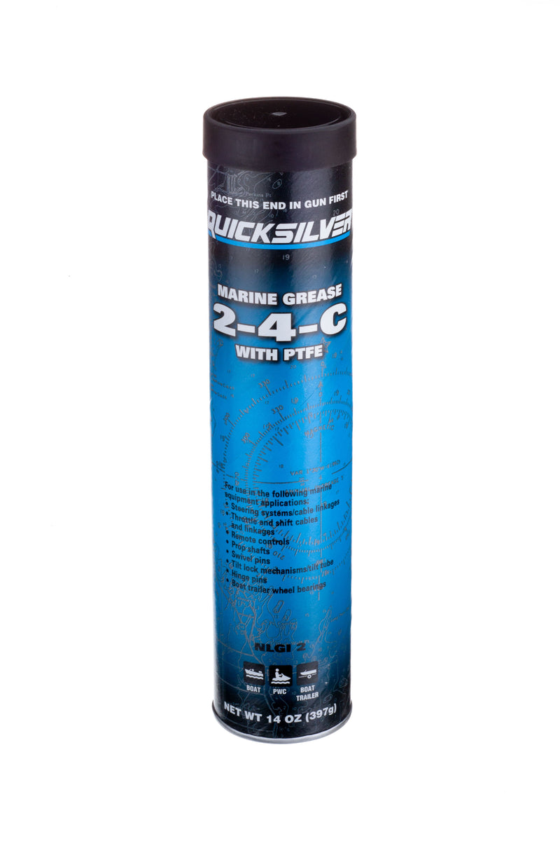 Quicksilver 2-4-C Marine Grease with PTFE