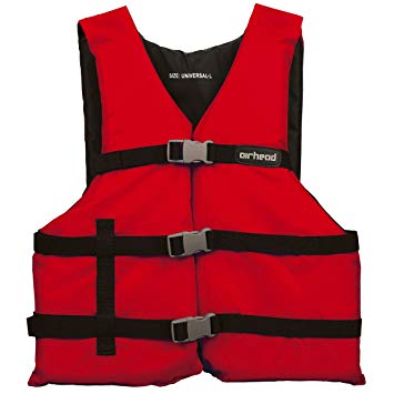 4PK Universal PFD Vests with Carrying Bag