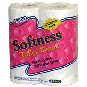Softness Toilet Tissue - Luxurious 2-Ply