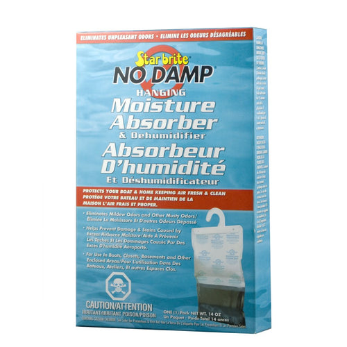 Star Brite No Damp Hanging Moisture Absorber & Dehumidifier