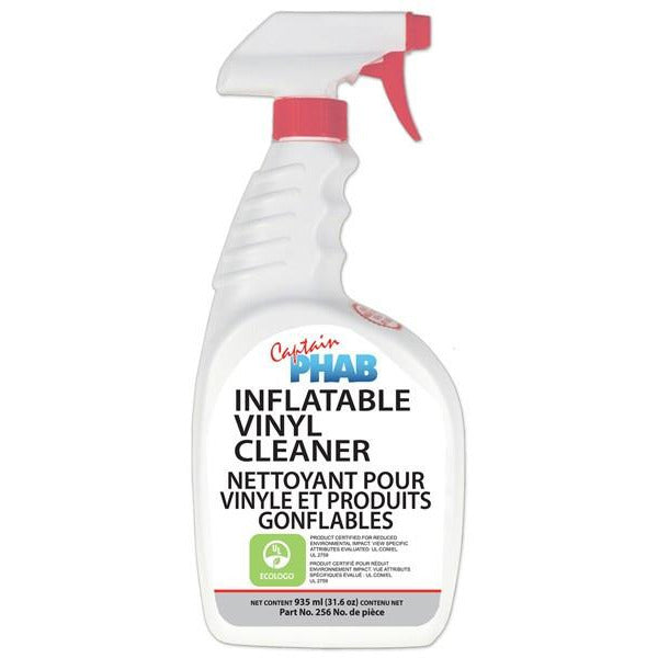 Captain Phab Inflatable Vinyl Cleaner