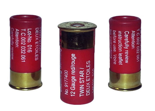12 Gauge Twin Star Flares - Package of 3