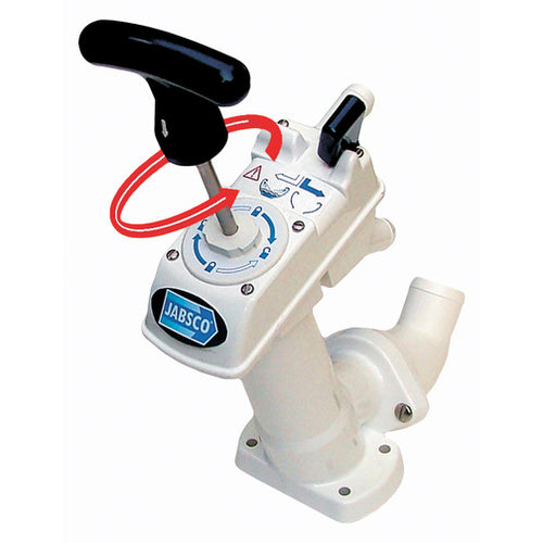 Jabsco Pump Assembly For Manual Toilet
