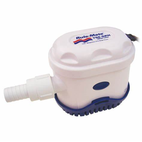 RULE-MATE FULLY AUTOMATED BILGE PUMP 750 GPH