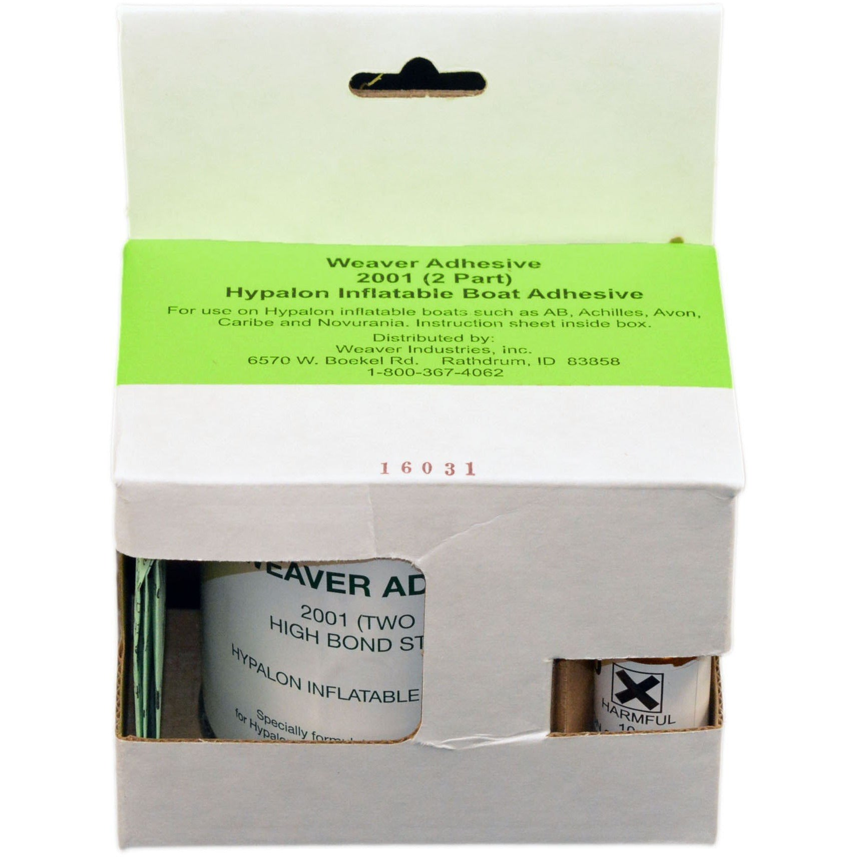WEAVER ADHESIVE 2001 (2 PART) HYPALON INFLATABLE BOAT ADHESIVE