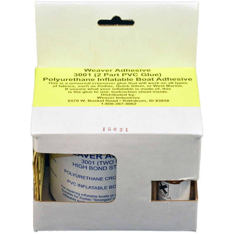 Weaver Adhesive 3001 2 Part PVC Glue