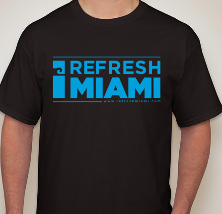 Official Refresh Miami T- Shirt