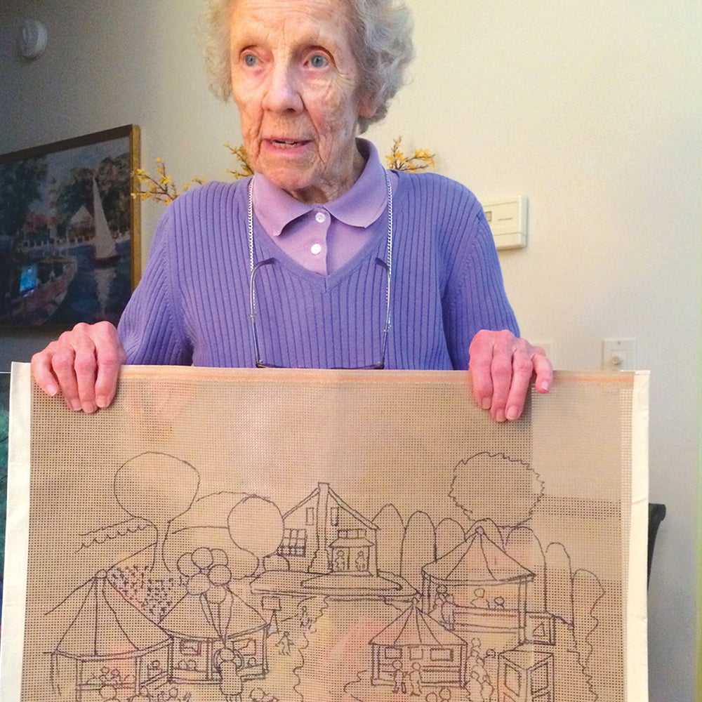 Nearly 102, and designing a new home