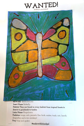 Insect Poster Butterfly