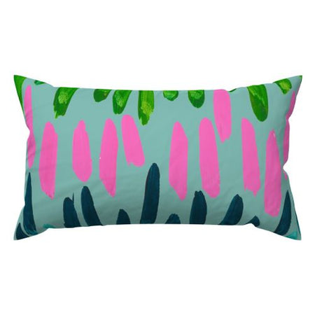 Cyan Northern Lights Lumbar Down Pillow