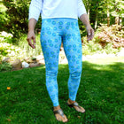 Surf Summer Bikes Leggings