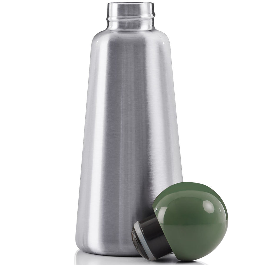 Lund London Metal with Green Top Medium Skittle Bottle