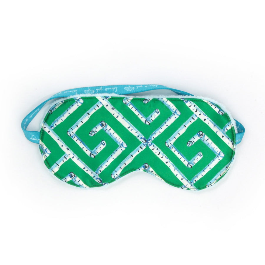 Emerald Fancy Key Sleep Mask