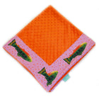 Fuschia Brook Trout Baby Blankie