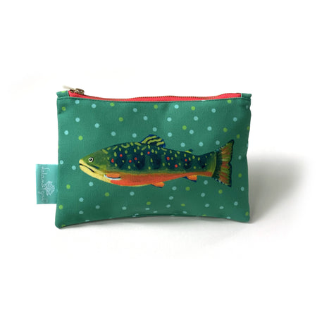 Single Bottle Brook Trout Stash Bag