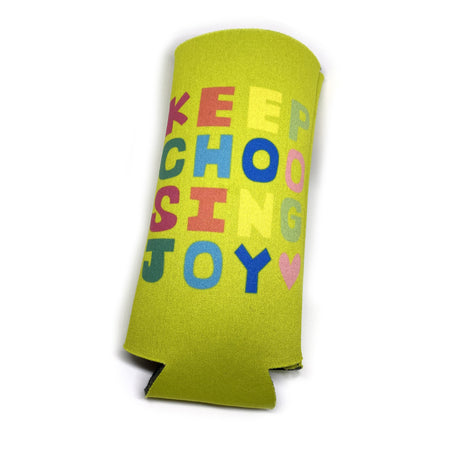Citron Keep Choosing Joy Tall Coozie