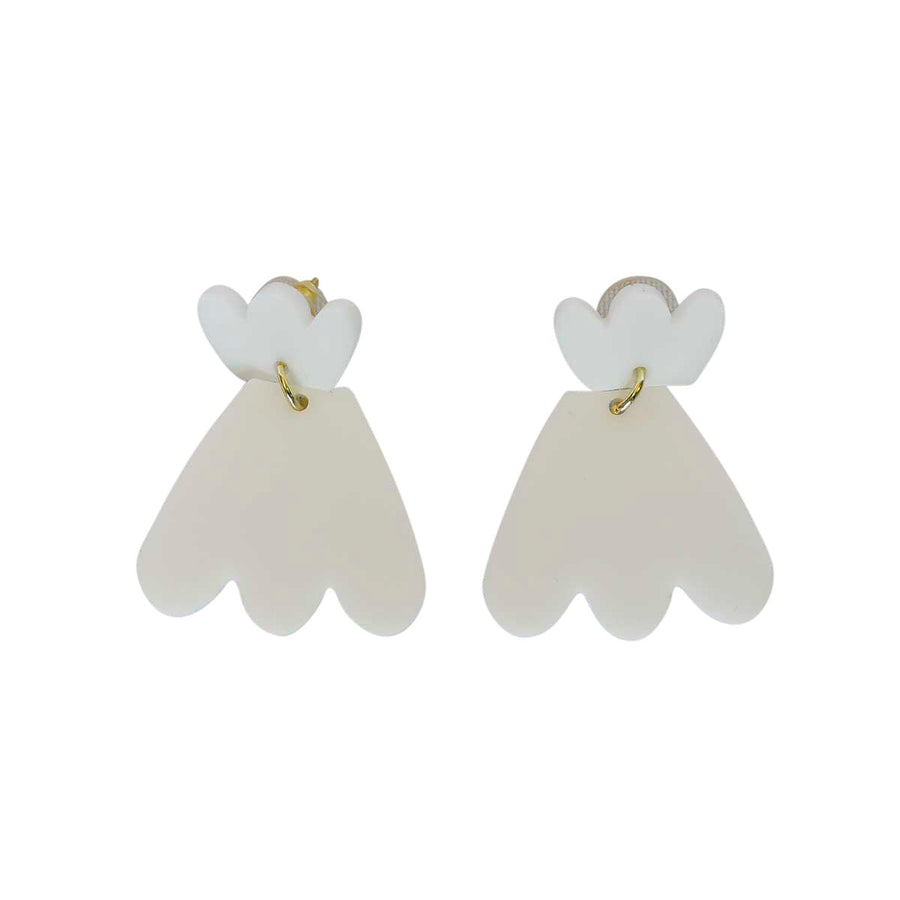 White Betties Earrings