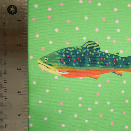 Leaf Brook Trout Fabric