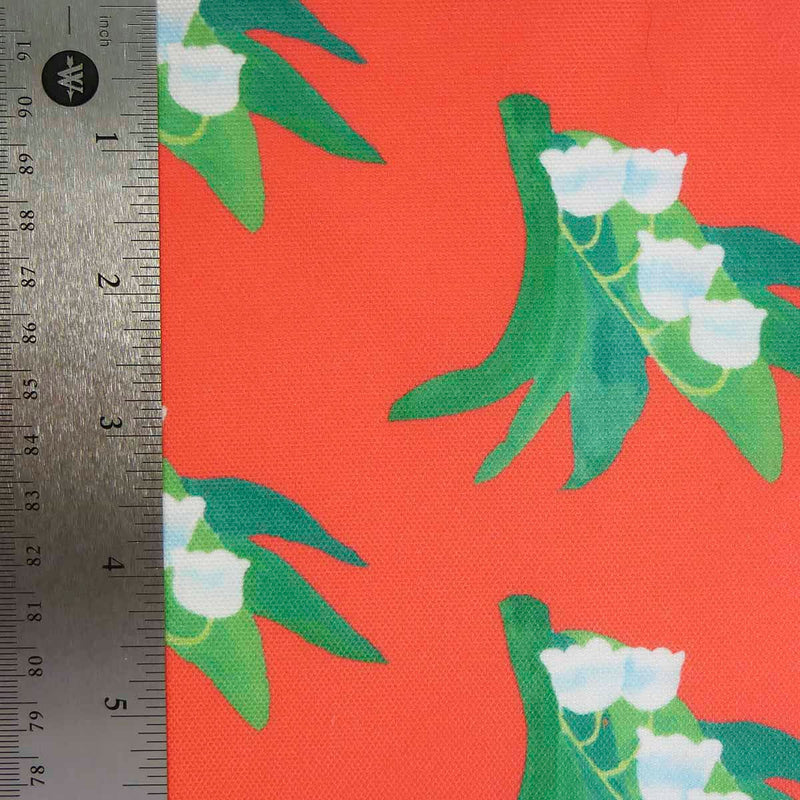 Punch Lilly of the Valley Fabric