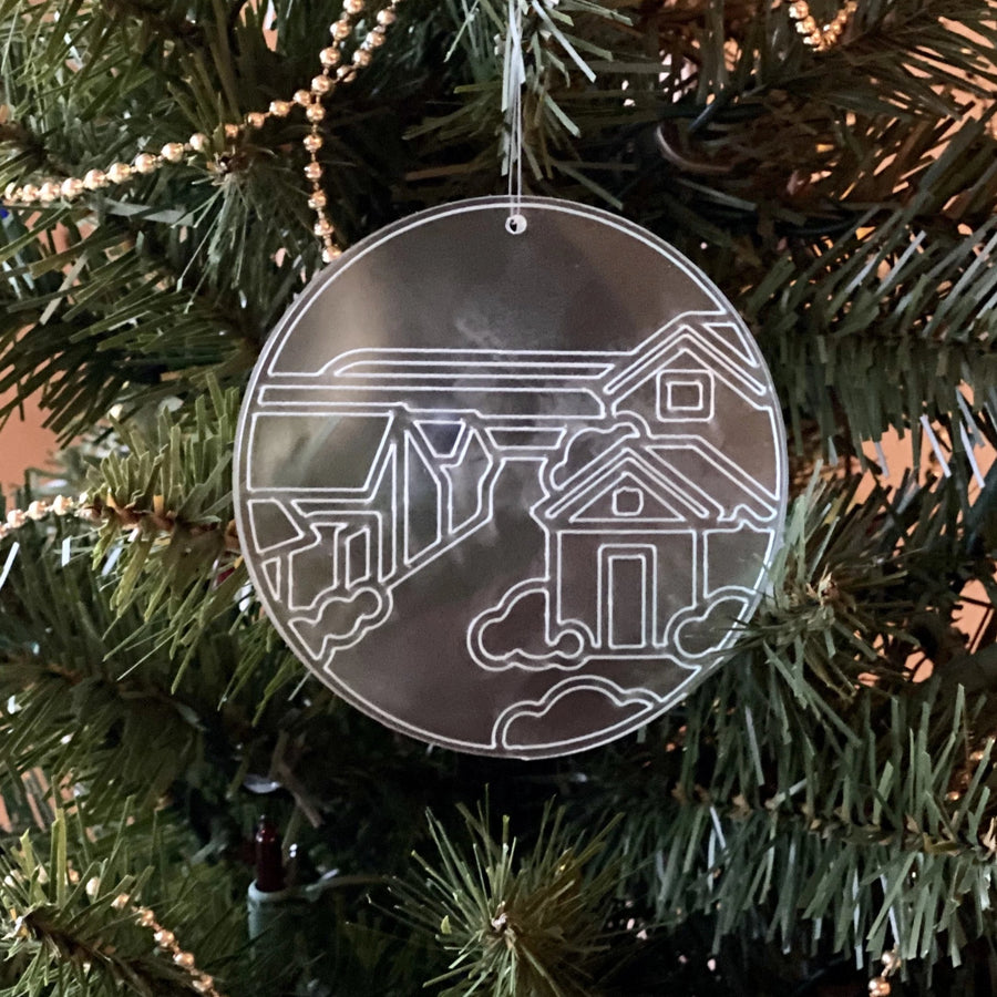 Wishtown Acrylic Ornament