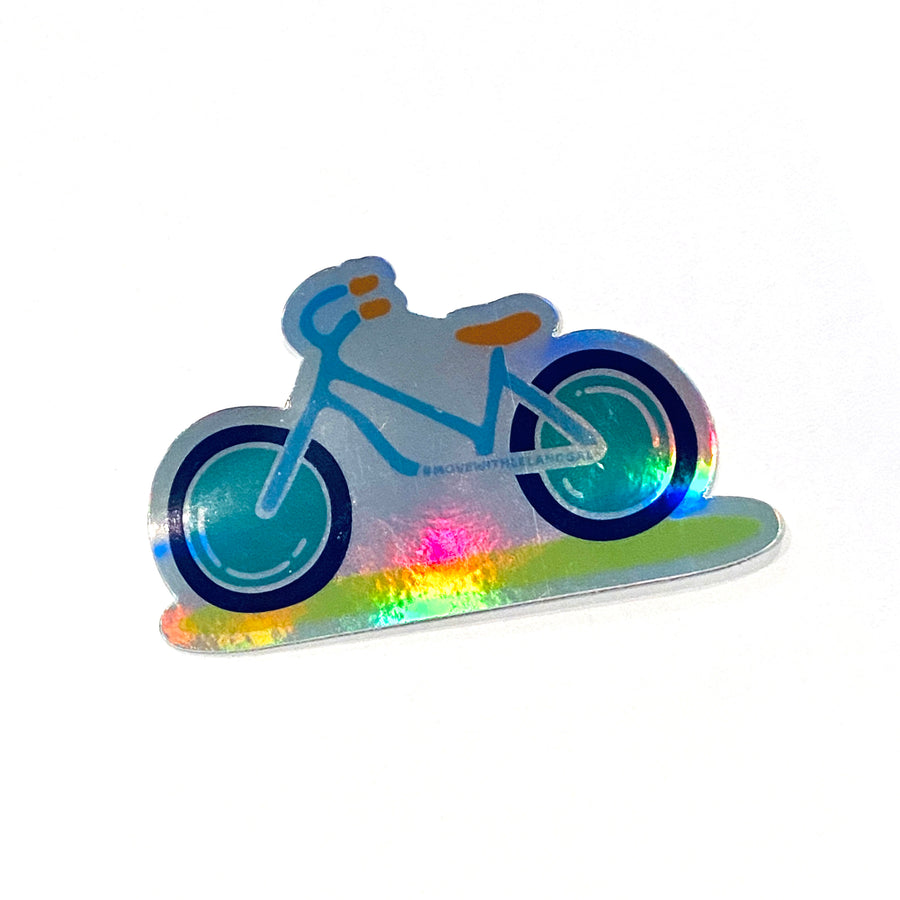 Bike Holographic Decal
