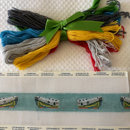 Tug Belt Needlepoint Kit