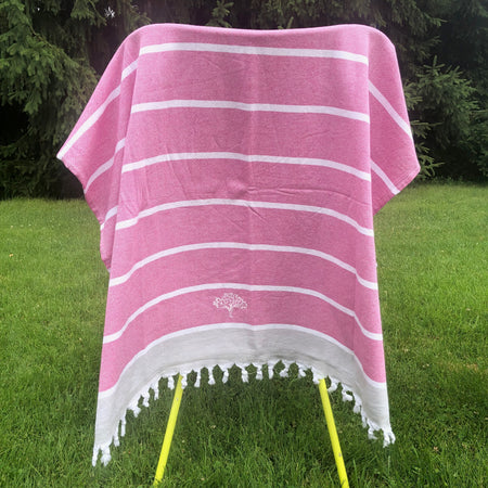 Raspberry Turkish Towel