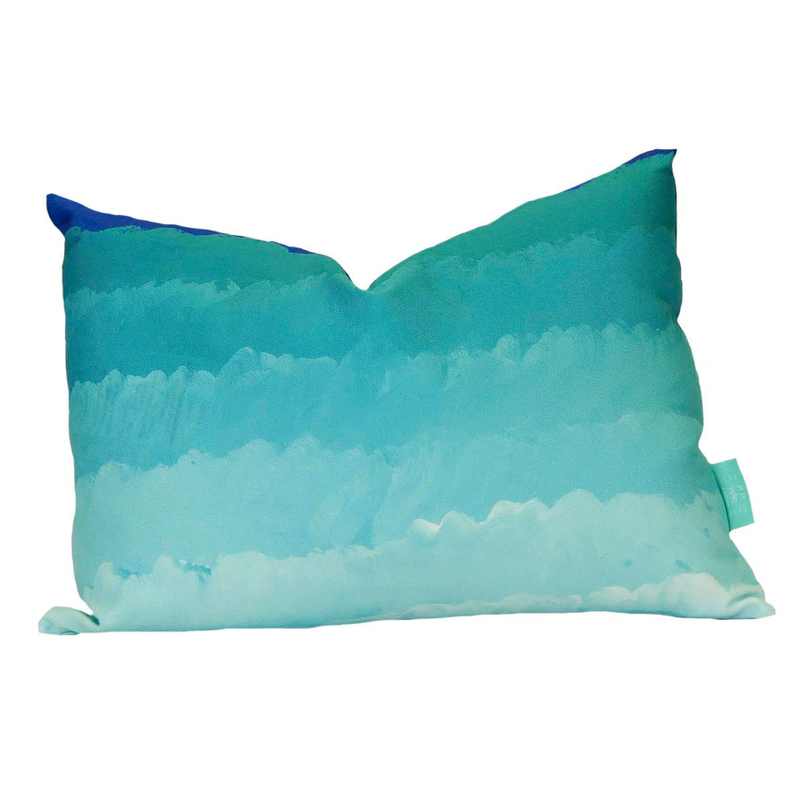 Leland Gal Ombre Lumbar Down Pillow