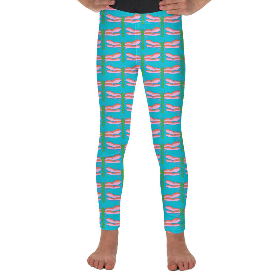 Waterfall Dragonfly Kids Leggings
