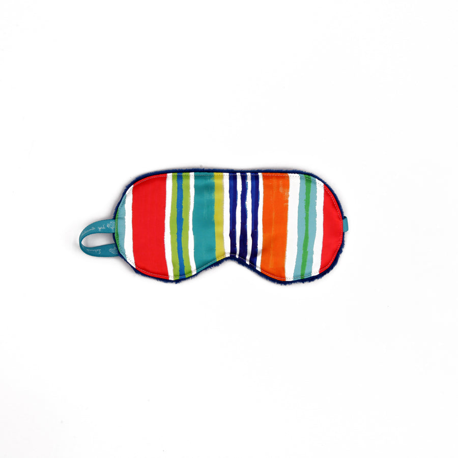 Pinstripe Sleep Mask