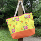 Lemon Katherine's Blooms Good Harbor Tote