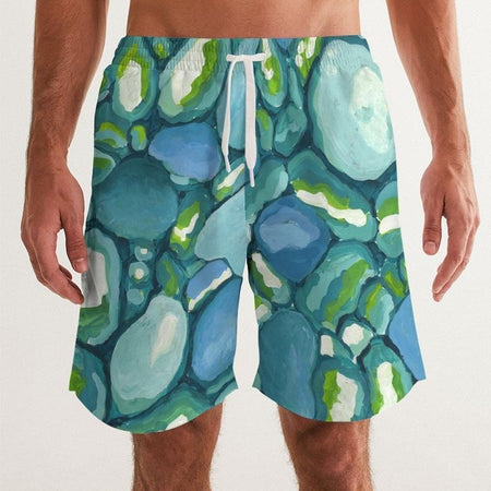 Leland Blue Men's Swim Trunks