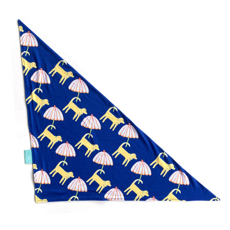 Dog Day Afternoon Navy/Mineral Dog Bandana