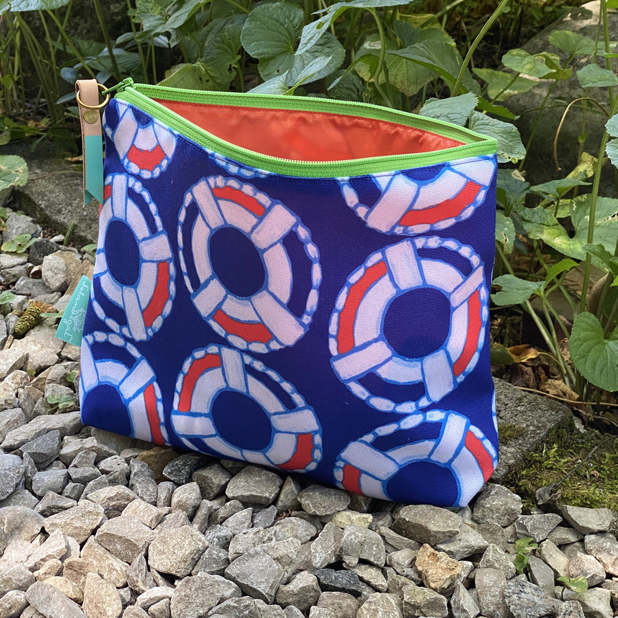 Navy Lifesaver Ditty Bag