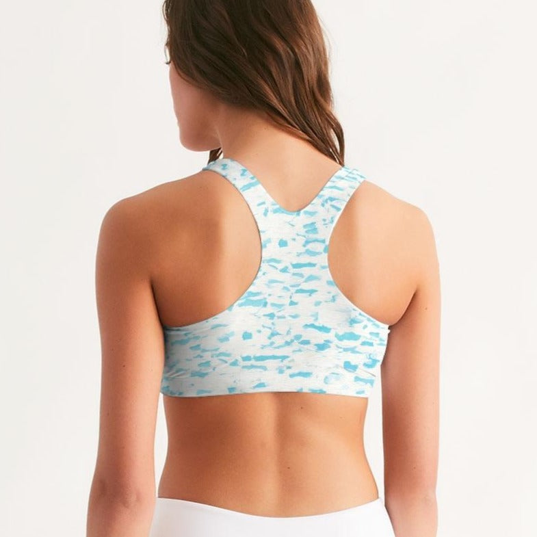 Open Water Seamless Sports Bra