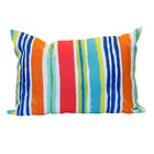 Leland gal Pinstripe Outdoor Lumbar Pillow