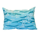 Sparkling Shoreline Outdoor Lumbar Pillow