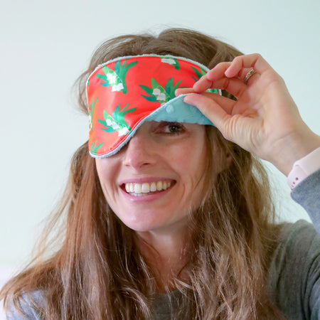 Punch Lily of the Valley Sleep Mask